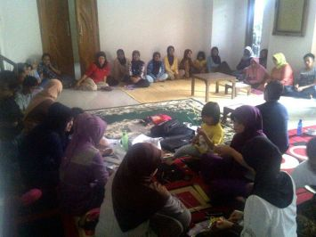 Penyuluhan Bahaya Narkoba di Pengajian Silaturahmi Hati Kabupaten Garut, Oktober 2012